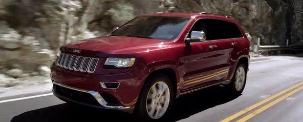 Reclama Jeep Grand Cherokee 2014: drumul nostru