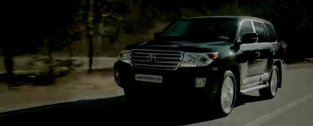 Reclama la noua Toyota Land Cruiser