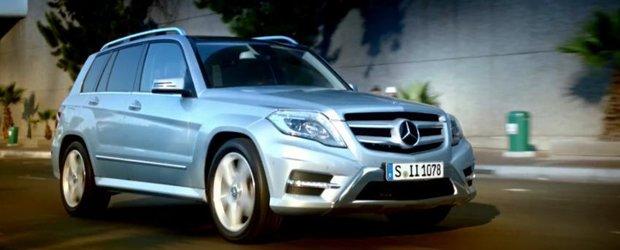 Reclama la noul Mercedes-Benz GLK