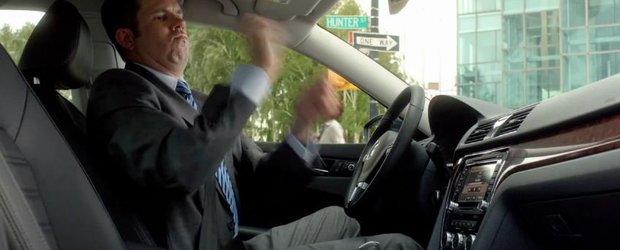 Reclama la noul VW Passat: nu mai esti invizibil