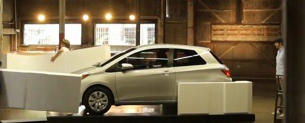 Reclama la Toyota Yaris 2012 - masina de jucarie este reala