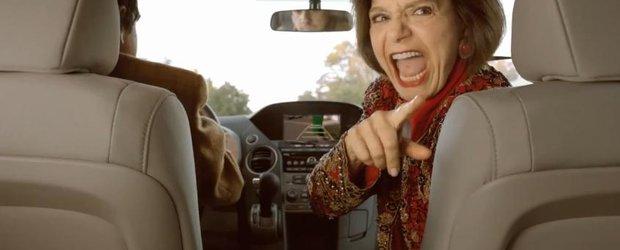 Reclama la Zilele Bucuriei Honda, in Statele Unite: baiatul mamei!