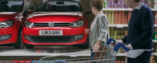 Reclama Volkswagen Polo: e ca si cum ai merge la cumparaturi