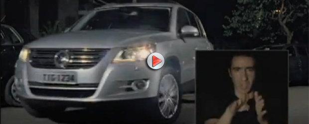Reclama Volkswagen Tiguan - parcarea nu mai este ce era odinioara...
