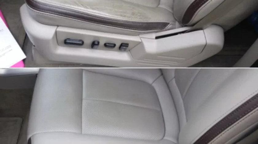 Reconditionare piele auto interioare detailing vopsea piele