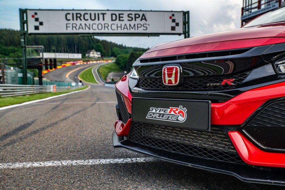 Record Civic Type R pe Spa Francorchamps