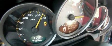 Record de franare cu Porsche 911 GT3 RS: de la 332 km/h la 0 km/h in 6.5 secunde