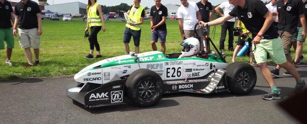 Record Mondial de viteza: 0-100 km/h in doar 1,779 secunde cu o masina electrica