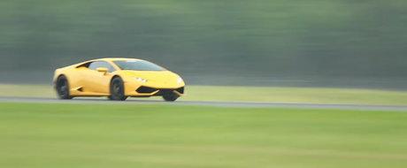 Record mondial de viteza doborat de acest Huracan: 402 km/h in mai putin de 15 secunde (804 metri)