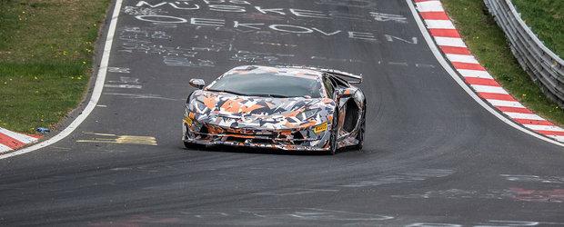 Recordul de pe Nurburgring a cazut din nou. Noul Aventador SVJ este cea mai rapida masina de serie de pe Iadul Verde