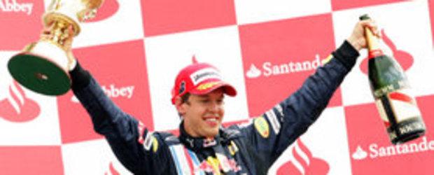 Red Bull a castigat la Silverstone