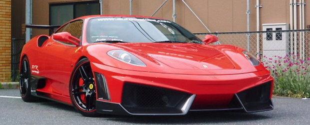 Red Devil: Ferrari F430 in haine de Lamborghini SuperVeloce!