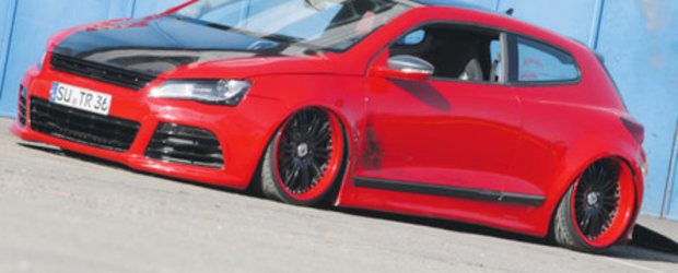 Red is Hot: VW Scirocco by Frank Radke