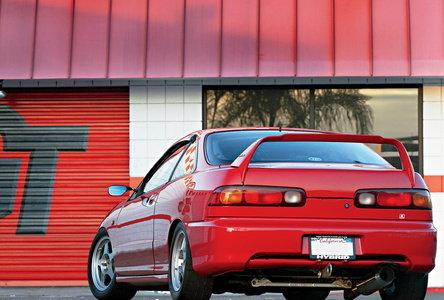 Red temptation: Honda Integra GS-R