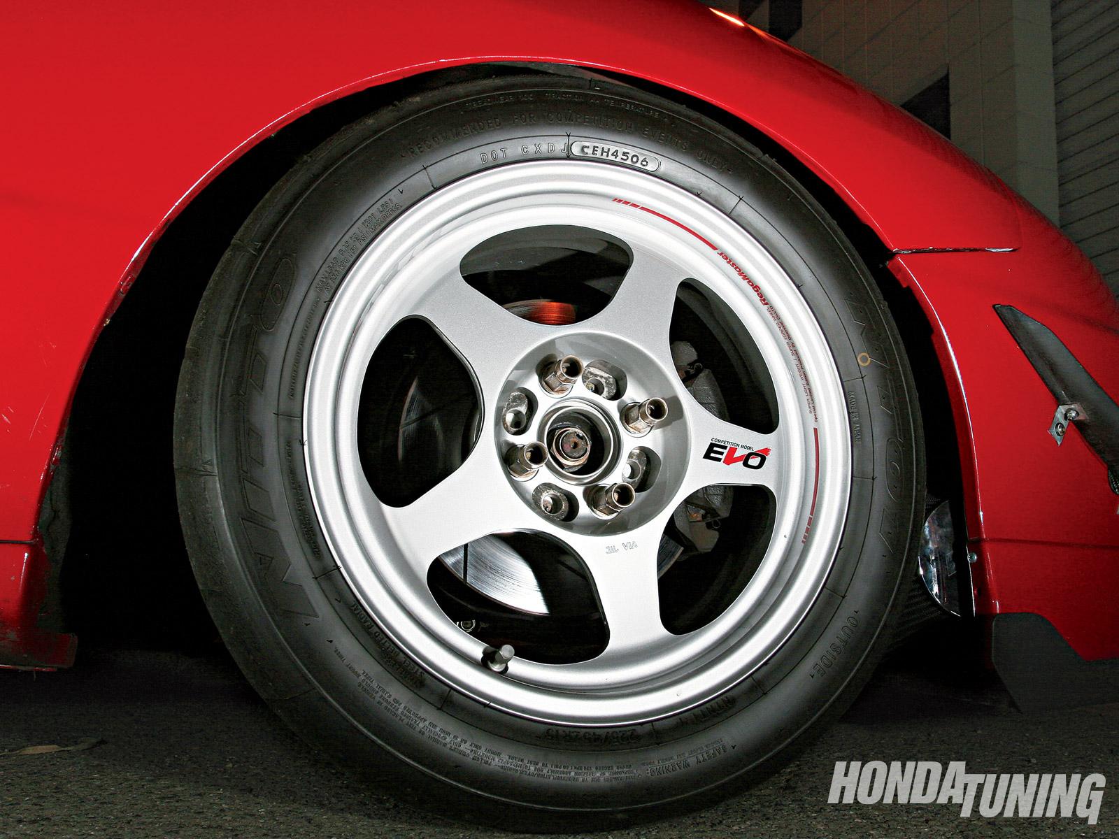 Red temptation: Honda Integra GS-R - Red temptation: Honda Integra GS-R