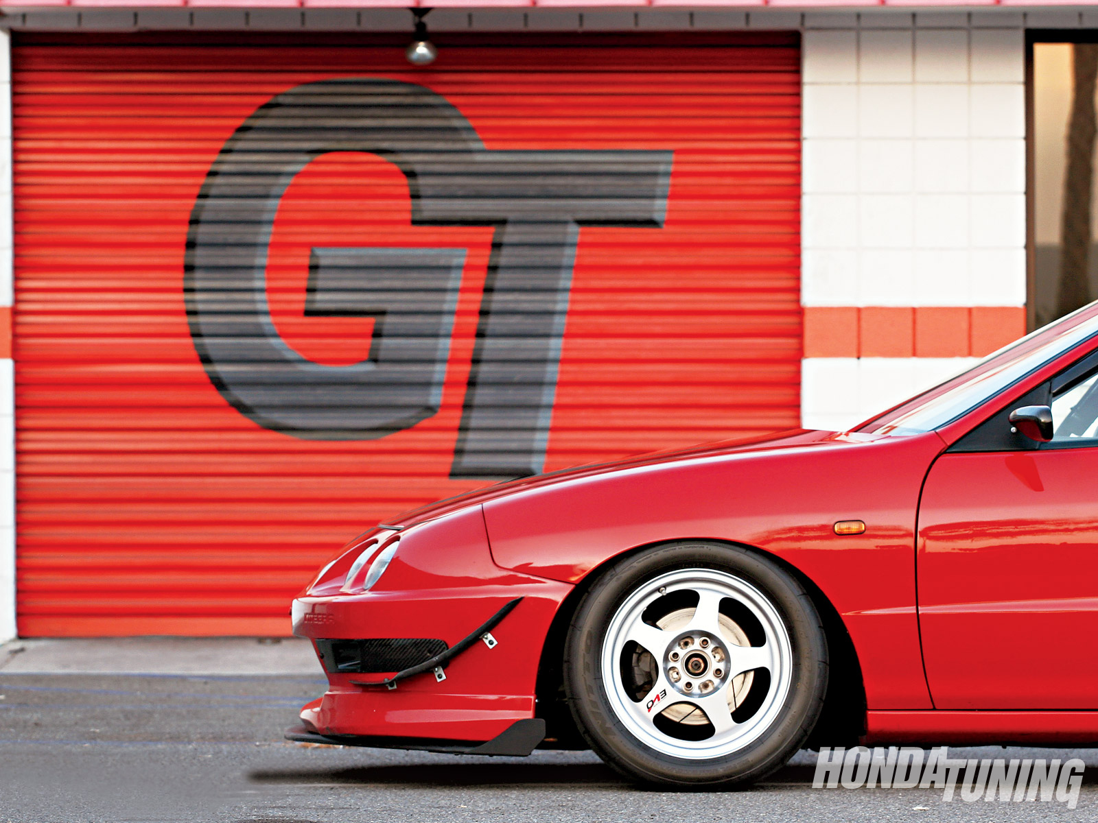 Red temptation: Honda Integra GS-R - Red temptation: Honda Integra GS-R