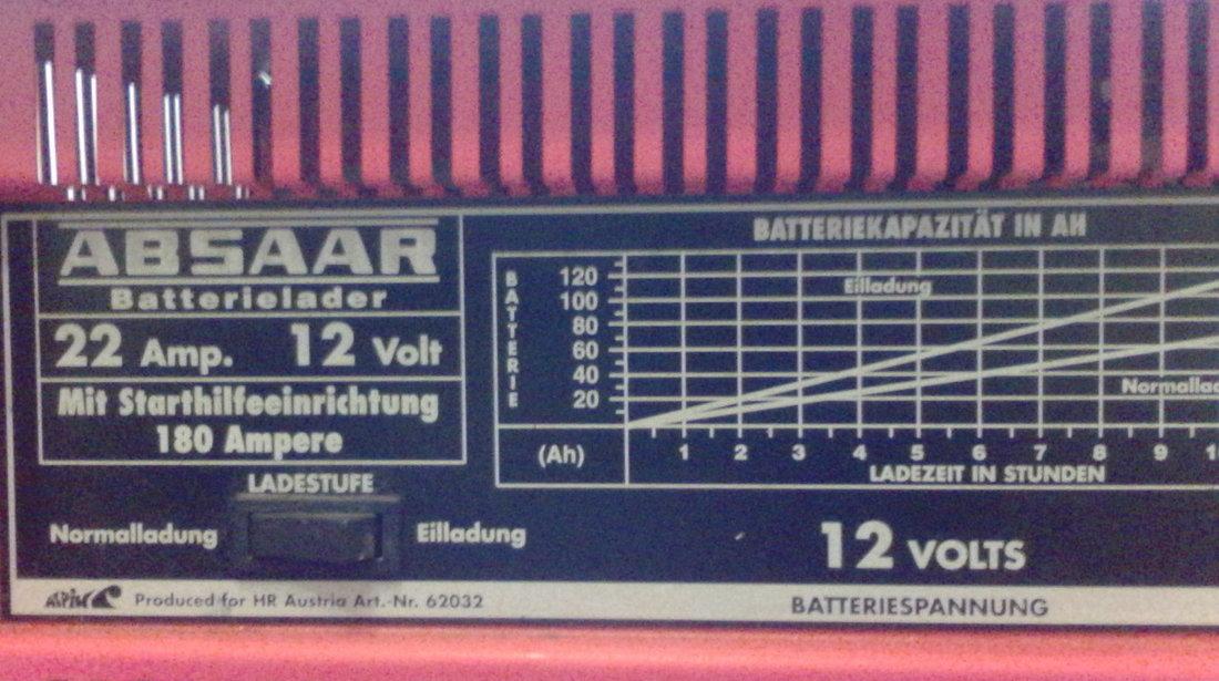 Redresor auto Austria-12V/22A+Robot pornire 180Amp