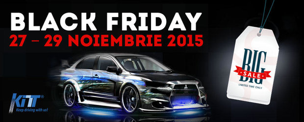 Reduceri de pana la 70% de Black Friday la accesorii auto si tuning!