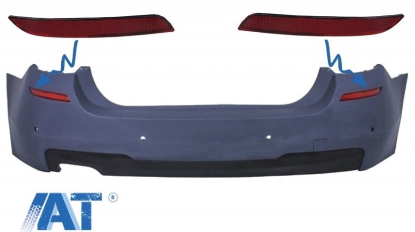 Reflector Bara Spate Catadioptru compatibil cu BMW 5 Series F10 (2011-up) M-tech Design