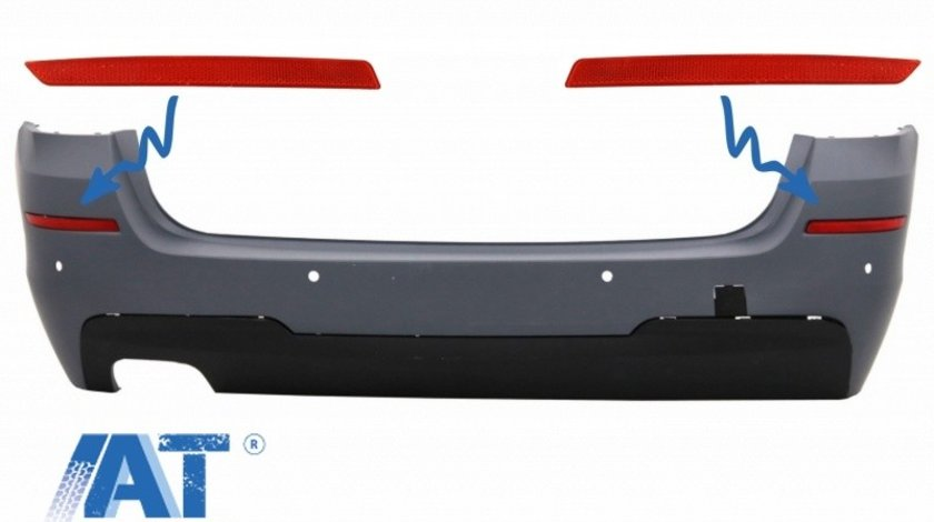Reflectorizanti Bara Spate Catadioptru compatibil cu BMW 5 Series F11 (2011-up) M-tech Design