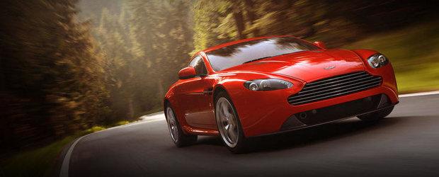 Regele a murit, traiasca Regele: Facelift subtil pentru Aston Martin V8 Vantage