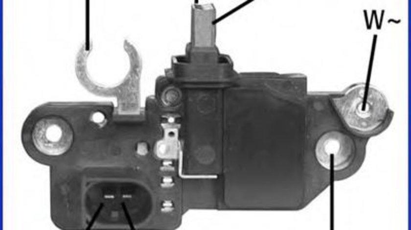 Regulator, alternator VW TOUAREG (7LA, 7L6, 7L7) (2002 - 2010) HITACHI 130570 piesa NOUA