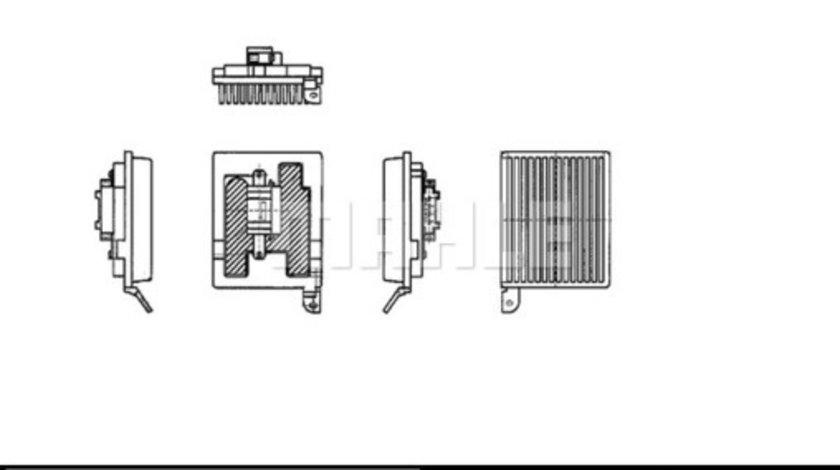 Regulator trepte ventilator habitaclu MERCEDES VIANO (W639), VITO / MIXTO (W639), VITO (W639) 2.0 d-3.7 dupa 2003 cod intern: CI6591CF