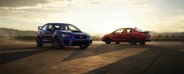 Reinvie Subaru? Actualele WRX si WRX STI au primit mai multe imbunatatiri