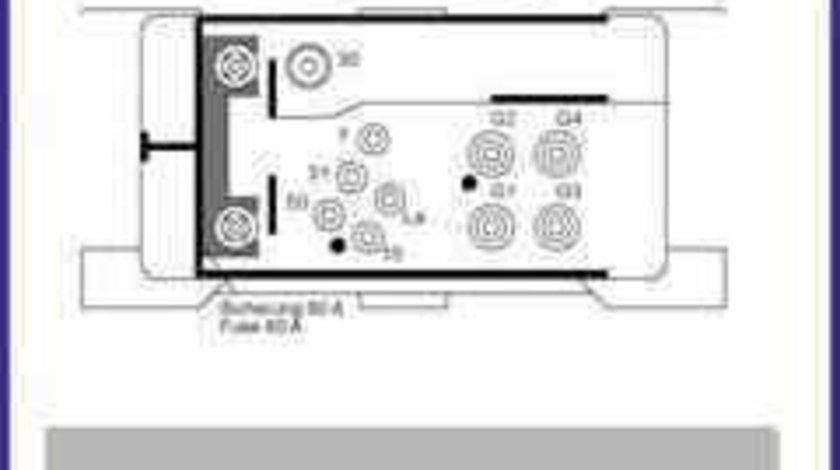 Releu Bujii MERCEDES-BENZ C-CLASS W202 HÜCO 132160