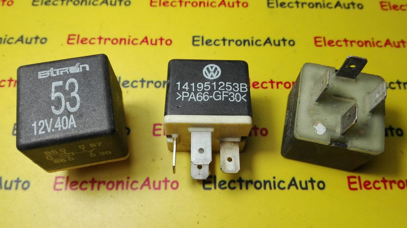 Releu calculator confort Audi, Vw, Seat, Skoda 141951253B