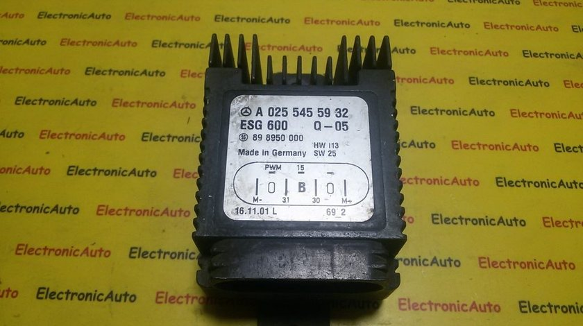 Releu electroventilator Mercedes C CLK SLK E Chrysler, A0255455932