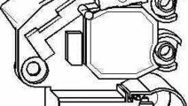 Releu incarcare alternator AUDI A4 8EC B7 TOPRAN 1...