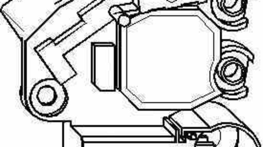 Releu incarcare alternator AUDI A4 Avant (8E5, B6) TOPRAN 109 918
