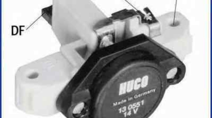 Releu incarcare alternator MERCEDES-BENZ C-CLASS T-Model (S203) HÜCO 130551