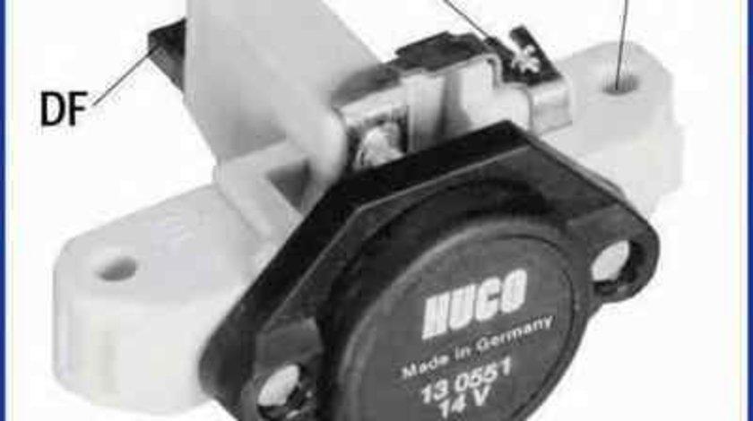Releu incarcare alternator MERCEDES-BENZ CLK Cabriolet (A208) HÜCO 130551