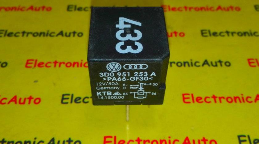 Releu lumini avari VW, Audi 3D0951253A