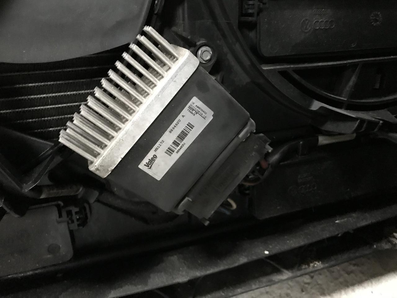 Releu modul comanda ventilator AUDI A6 4G 2.0 TDI CGL 2012 2013 2014