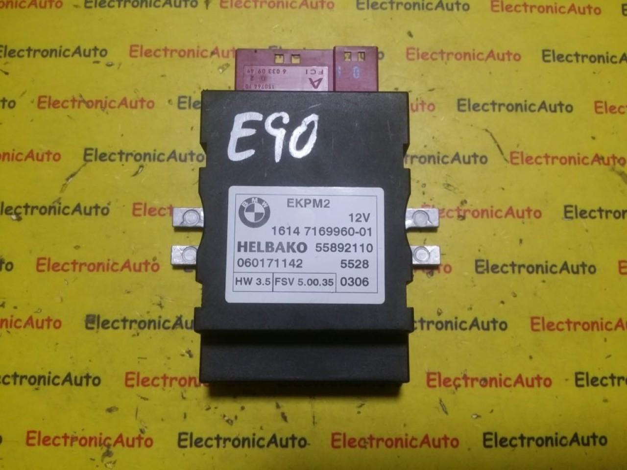 Releu pompa combustibil BMW E90 Seria 3 16147169960 (6WK5)
