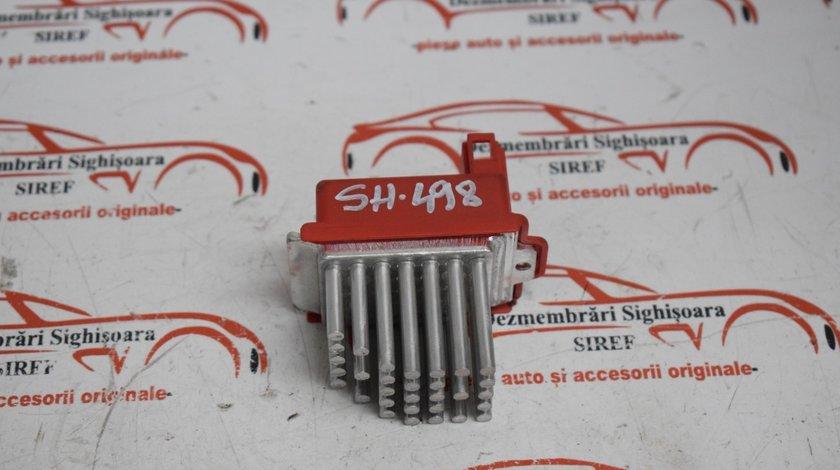 Releu reostat rezistenta ventilator caldura habitaclu VW Sharan 657364M 498
