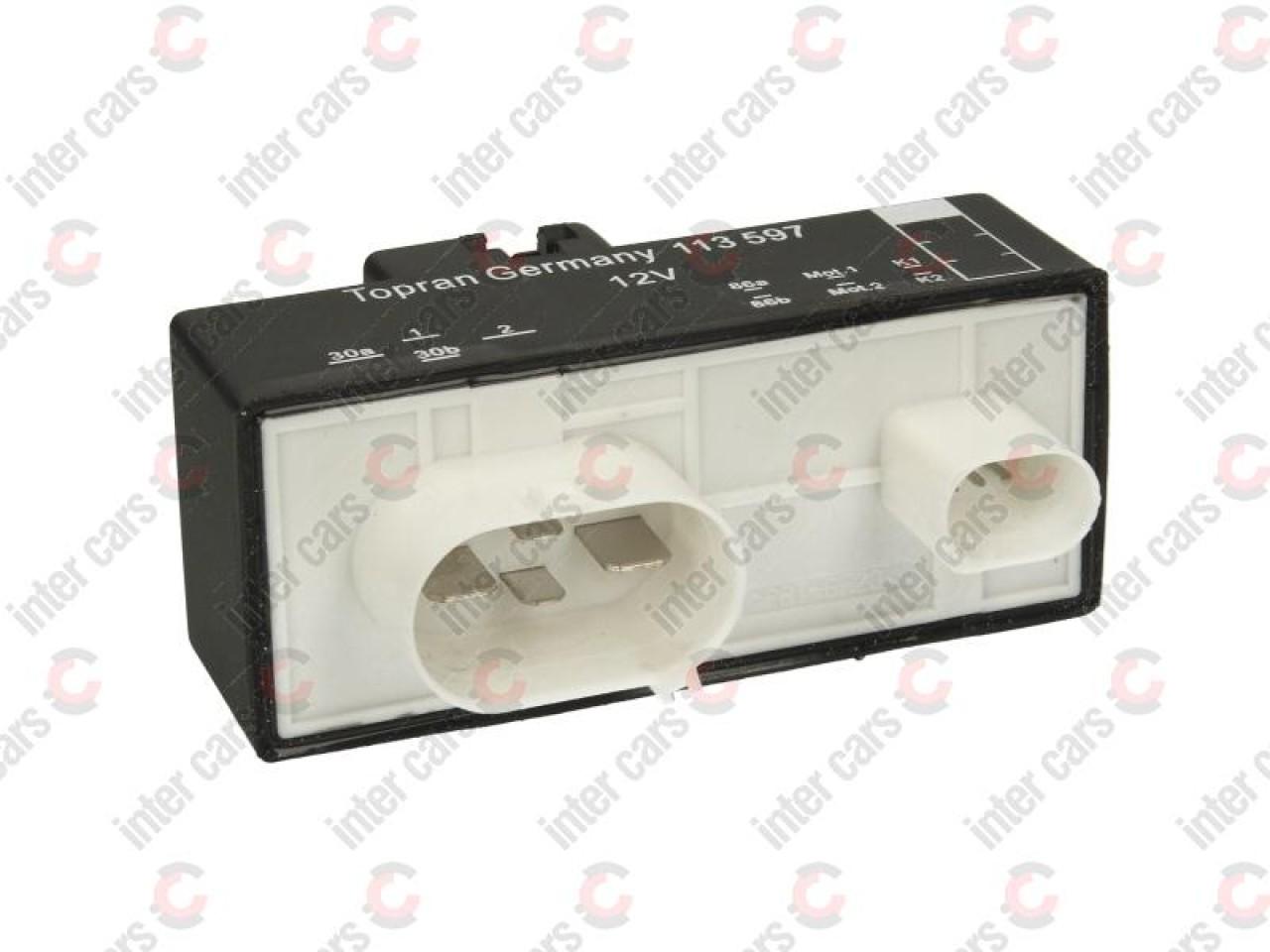 Releu ventilator radiator VW POLO 6R 6C Producator TOPRAN 113 597