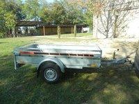 Remorca auto 1300 kg Boro Majster dimensiuni 2450X1320X400