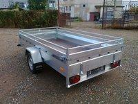 Remorca auto 750 kg Boro Majster dimensiune 300x150 cm