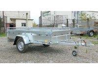 Remorca auto 750 kg Boro Majster dimensiune 245x125 cm