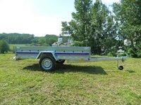 Remorca auto 750 kg Niewiadow dimensiune 262x132 cm