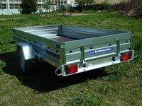 Remorca auto 750 kg Niewiadow dimensiune 304 x 150 cm