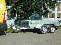 Remorca auto Boro Majster 1300 kg dimensiuni 2450X1320X400 mm