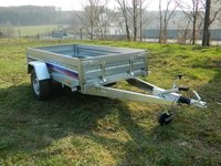 Remorca auto de uz general 1300 kg Niewiadow dimensiuni 260x130 cm