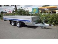 Remorca auto platforma Boro 2700 kg, dimensiune utila de 4000 x 2000 x 400 mm