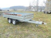 Remorca platforma Boro BH 1500 kg dimensiune 3000x1500x380 mm