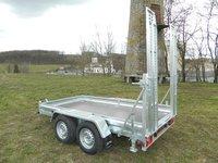 Remorca platforma transport utilaje Boro 2700 kg dimensiune 355x183 cm